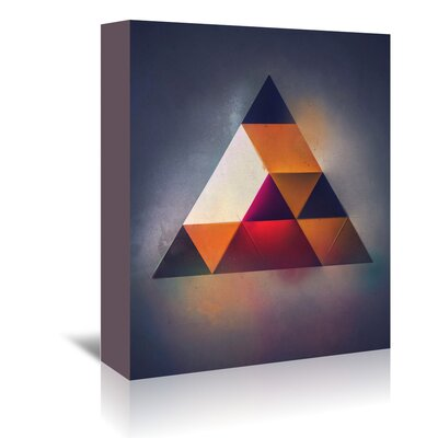 Americanflat 'Try 7' by Spires Graphic Art Wrapped on Canvas