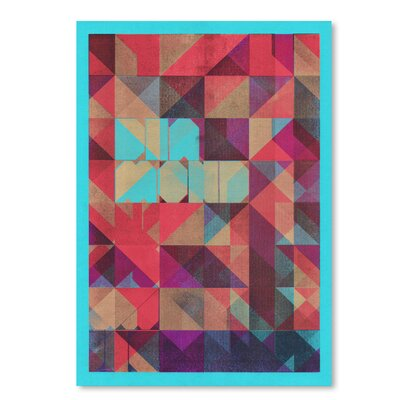 Americanflat 'Risograph #1 Diamond' by Spires Graphic Art