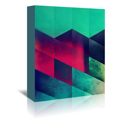 Americanflat 'Styp 1' by Spires Graphic Art Wrapped on Canvas