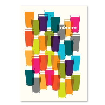 Americanflat 'Cheers' by Advocate Art Graphic Art