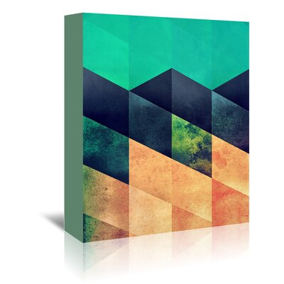 Americanflat Styp 2' by Spires Graphic Art Wrapped on Canvas