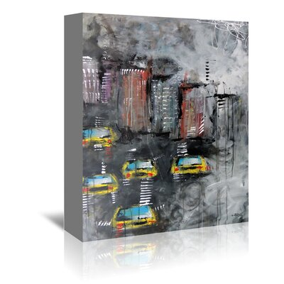 Americanflat Urbanit 3464' by Annie Rodrigue Art Print Wrapped on Canvas