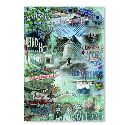 Americanflat 'Around The Corner' by Graffi Tee Studios Graphic Art