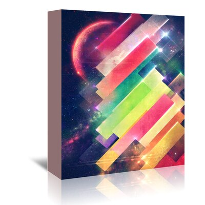 Americanflat 'Mwwntyp' by Spires Graphic Art Wrapped on Canvas