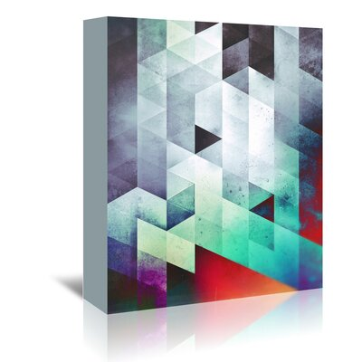 Americanflat 'Cyld_Styck' by Spires Graphic Art Wrapped on Canvas