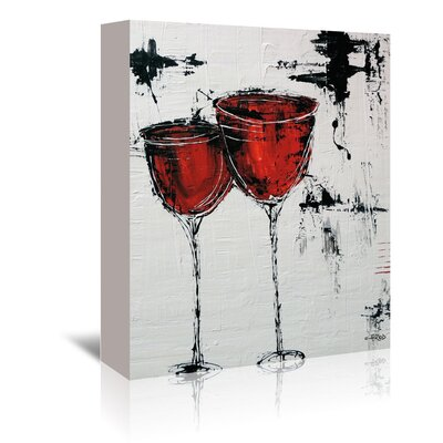 Americanflat 'Vino 110' by Annie Rodrigue Art Print Wrapped on Canvas
