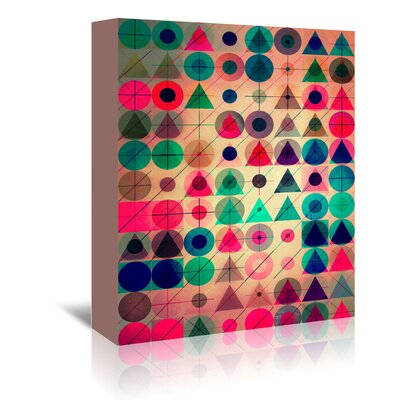 Americanflat Pyck Pyck' by Spires Graphic Art Wrapped on Canvas