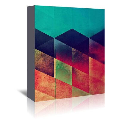 Americanflat 'Styp 3' by Spires Graphic Art Wrapped on Canvas
