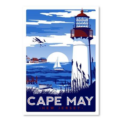 Americanflat Capemay' by Matthew Schnepf Vintage Advertisement