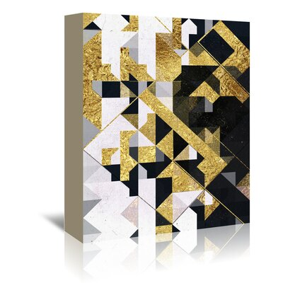 Americanflat 'Gyld Lyyfd' by Spires Graphic Art Wrapped on Canvas