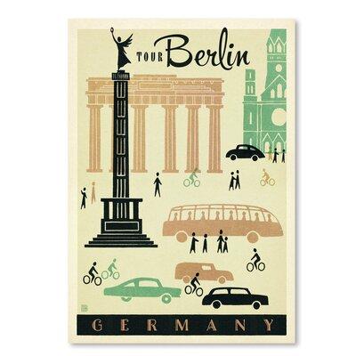 Americanflat WT Berlin MOD' by Joel Anderson Vintage Advertisement
