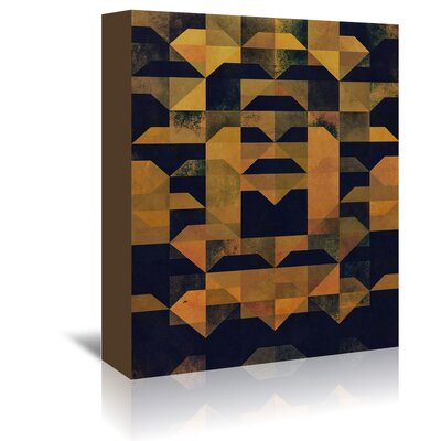 Americanflat Gyld Kyck' by Spires Graphic Art Wrapped on Canvas