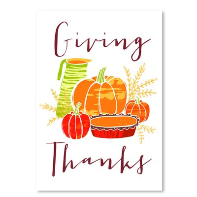 Americanflat Giving Thanks' by Advocate Art Graphic Art