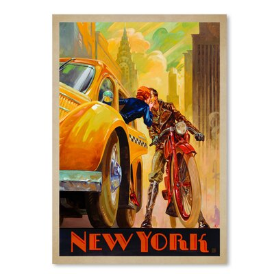 Americanflat 'New York Minute Kai Carpenter Type' by Joel Anderson Vintage Advertisement