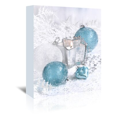 Americanflat 'Festive Ornaments' by Advocate Art Photographic Print Wrapped on Canvas