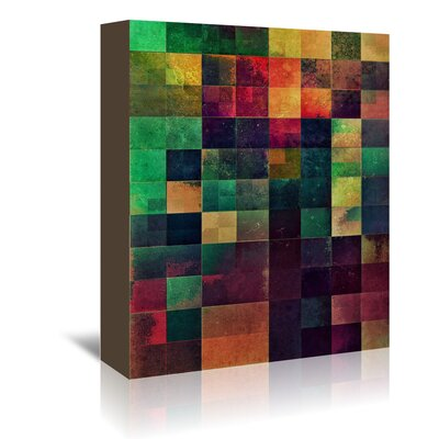 Americanflat Nymbll Bwx1' by Spires Graphic Art Wrapped on Canvas