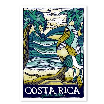Americanflat Costaricapattern' by Matthew Schnepf Vintage Advertisement