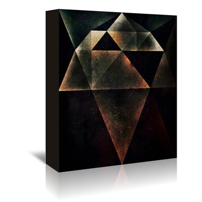 Americanflat 'Hym' by Spires Graphic Art Wrapped on Canvas