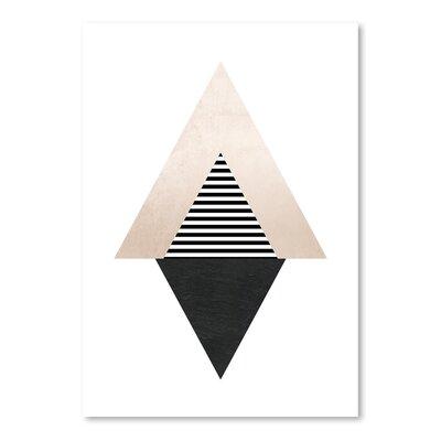 Americanflat Geometric Art 56' by Pop Monica Graphic Art