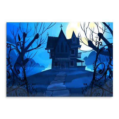 Americanflat Haunted House' by Advocate Art Graphic Art