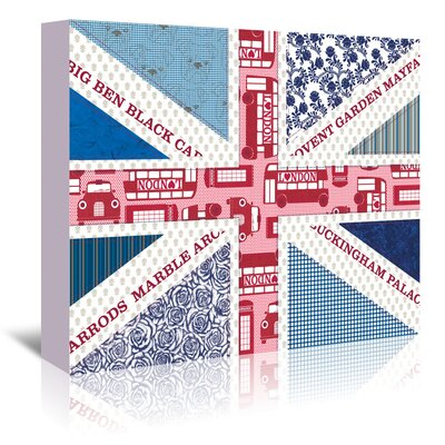 Americanflat 'Uk Flag' by Advocate Art Graphic Art Wrapped on Canvas