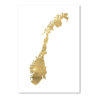 Americanflat 'Norway' by Pop Monica Graphic Art