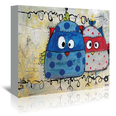 Americanflat Kidsz 22' by Annie Rodrigue Art Print Wrapped on Canvas