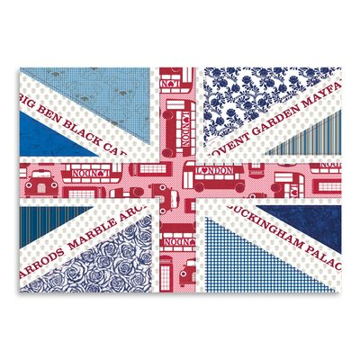 Americanflat Uk Flag' by Advocate Art Graphic Art