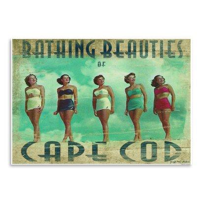 Americanflat 'Bathing Beauties of Cape Cod' by Graffi Tee Studios Vintage Advertisement