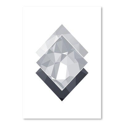 Americanflat 'Geometric Art 45' by Pop Monica Graphic Art
