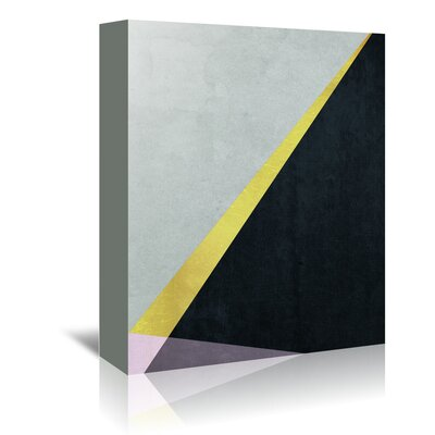 Americanflat 'Geometric Art 53' by Pop Monica Graphic Art Wrapped on Canvas