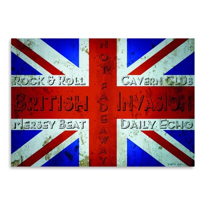 Americanflat 'British Invasion' by Graffi Tee Studios Graphic Art