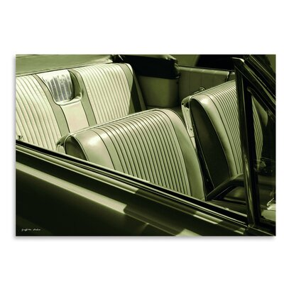 Americanflat Bucket Seats' by Graffi Tee Studios Photographic Print