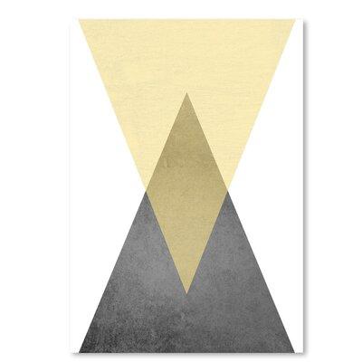 Americanflat 'Geometric Art 57' by Pop Monica Graphic Art