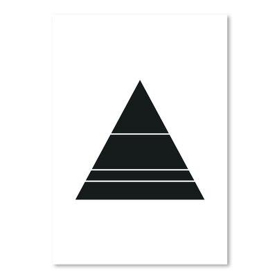 Americanflat 'Geometric Art 48' by Pop Monica Graphic Art