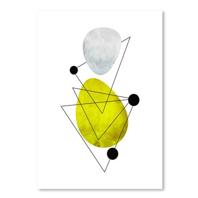 Americanflat 'Geometric Art 36' by Pop Monica Graphic Art