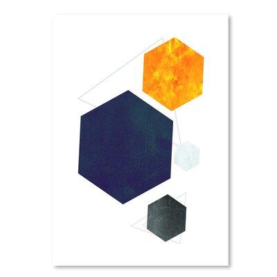 Americanflat 'Geometric Art 35' by Pop Monica Graphic Art
