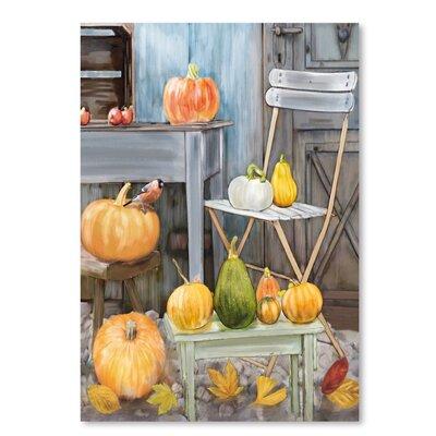 Americanflat Fall Harvest' by Advocate Art Art Print