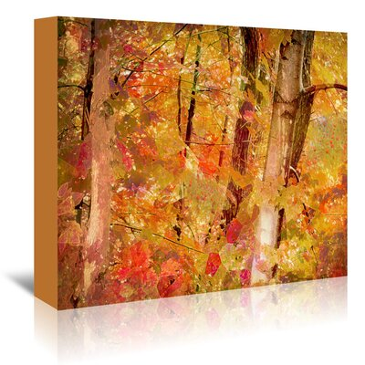 Americanflat Fall Forest' by Advocate Art Graphic Art Wrapped on Canvas