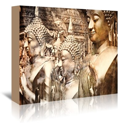Americanflat 'Buddah Thailand' by Golie Miamee Photographic Print Wrapped on Canvas