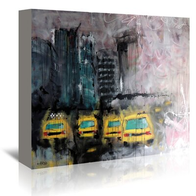 Americanflat Urbanit De Marie' by Annie Rodrigue Art Print Wrapped on Canvas