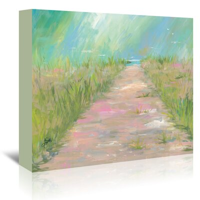 Americanflat 'Beach Path' by Terri Einer Art Print Wrapped on Canvas