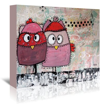 Americanflat 'Kidz 21' by Annie Rodrigue Graphic Art Wrapped on Canvas