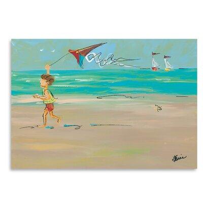 Americanflat Ocean Breeze' by Terri Einer Art Print