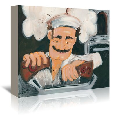 Americanflat 'Salt and Pepper Chef' by Terri Einer Art Print Wrapped on Canvas