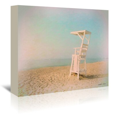 Americanflat 'Lifeguard Chair' by Graffi Tee Studios Art Print Wrapped on Canvas