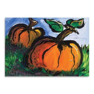 Americanflat 'Pumpkins' by Terri Einer Art Print