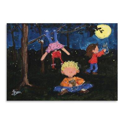 Americanflat 'Playing at Night' by Terri Einer Art Print