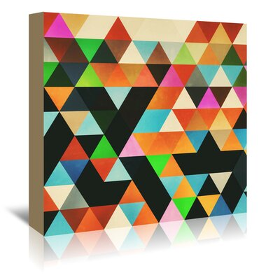Americanflat Ryylld Pyg' by Spires Graphic Art Wrapped on Canvas