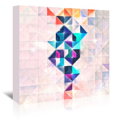 Americanflat 'Slyyk Slww' by Spires Graphic Art Wrapped on Canvas
